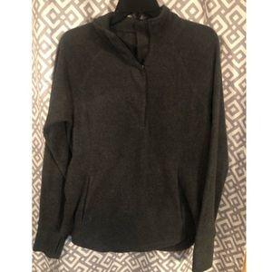 Old navy fleece half zip sweatshirt